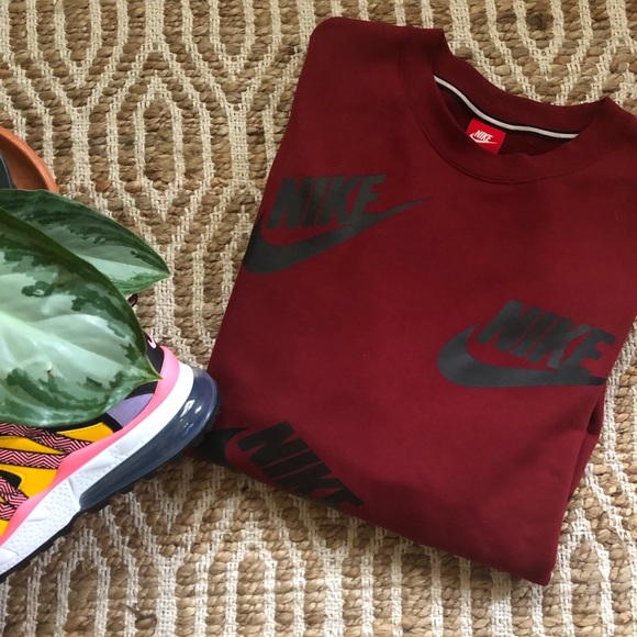 3edaff0a0 Nike Sweaters | Sportswear Crew Futura Toss | Poshmark